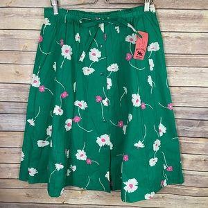 Vintage NWT 18 Hunter Sportswear Button Up Skirt